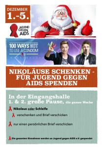 Jugend gegen AIDS & Nikolausaktion